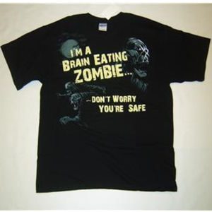 I'm a Brain Eating ZOMBIE Don't Worry, You're Safe